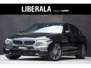 BMW 5シリーズ 523d Mスポーツ インテリジェントセーフティ コンフォートアクセス アクティブクルーズコントロール 全方位カメラ パドルシフト オートハイビーム リアパワーゲート 純正ナビ フルセグTV CD DVD MSV BT