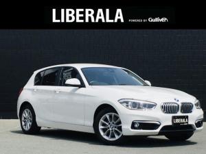 BMW 1シリーズ 118i スタイル 純正ナビ Bカメラ フルセグ ハーフレザー プラスPKG LEDライト パーキングサポートPKG ドライビングアシストPKG クルコン インテリSFT 純正16AW