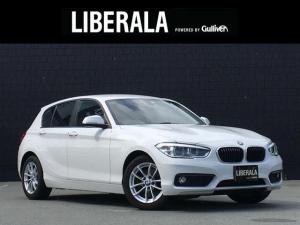 BMW 1シリーズ 118i 純正HDDナビ バックカメラ LEDヘッドライト ミラーETC 純正16incAW コーナーセンサー ステアリングスイッチ アイドリングストップ