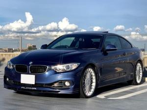 BMWアルピナ B4 ビターボ クーペ 右ハンドル ハーマンカードンサウンド 20インチアルミホイール サンルーフ アダプティブクルーズ バックカメラ 地デジTV ダコタレザーシート アルピナエキゾーストシステム アクラポビッチ製