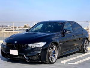 BMW M3 M3 ヘッドアップディスプレイ・レーンキープ・フルレザーインテリア・カーボンルーフ・地デジTV・シートヒーター・スポーツシート・19インチアルミホイール・