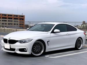 BMW 4シリーズ 428iクーペ Mスポーツ SACHS車高調 BBS20AW アダプティブクルーズコントロール 車線逸脱警告 緊急ブレーキ ヘッドアップディスプレイ