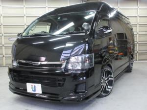 トヨタ ハイエースワゴン グランドキャビン 特設カラー202ブラック WALDフルエアロ