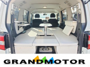 三菱 デリカD:5 M キャンピングカー 新規架装 車中泊 サブバッテリー 後席モニター