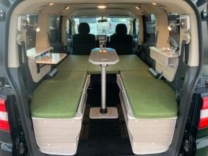 三菱 デリカD:5 C2 G ナビパッケージ キャンピングカー 新規架装 車中泊 サブバッテリー ローデスト
