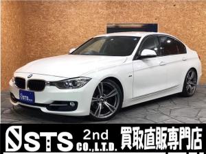 BMW 3シリーズ 320i スポーツ 純正ナビ Bカメラ ビルシュタイン車高調 レムス2本出マフラー パワーシート Bluetooth接続ローダウン