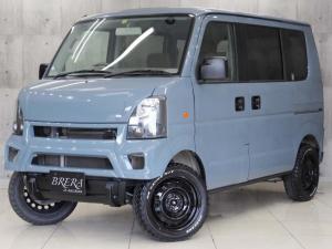 スズキ エブリイワゴン JP BRERAオリジナルカスタム リフトアップ 新品タイヤ
