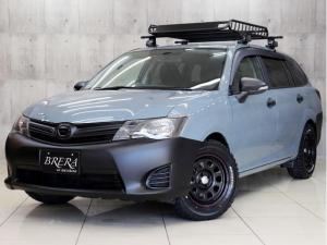トヨタ カローラフィールダー 1.5G BRERAオリジナルカスタム 新品アルミ&新品オールテレーンタイヤ 新品ルーフラック インナーブラックヘッドライト テールランプブラックアウト SDナビTV Bluetooth接続 バックカメラETC