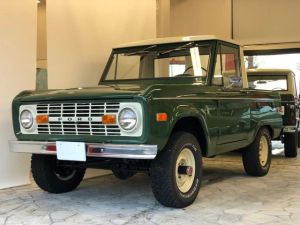 フォード ブロンコ トラック 本国ワンオーナー オリジナルペイント