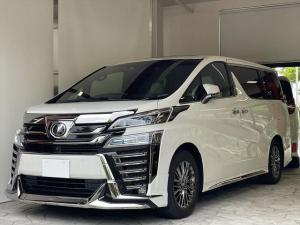 トヨタ ヴェルファイア 3.5エグゼクティブラウンジZ モデリスタエアロ リヤエンターテイメント 内装LED