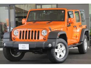 クライスラー・ジープ ジープ・ラングラーアンリミテッド オレンジ 限定カラー 2DINナビ ETC ドライブレコーダー