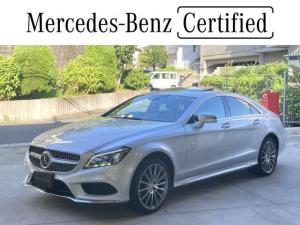 メルセデス・ベンツ CLSクラス CLS220d AMGライン 認定中古車/レーダーセーフティパッケージ/ガラススライディングルーフ/本革シート/シートヒーター/AIRマチックサスペンション/ブラックアッシュウッドインテリアトリム/AMGスポーツステアリング