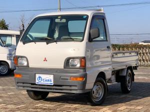 三菱 ミニキャブトラック Vタイプ 三方開 4WD ワンオーナー 法定12か月点検付