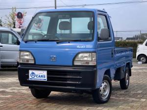 ホンダ アクティトラック SDX 三方開 4WD ワンオーナー 法定12か月点検整備付