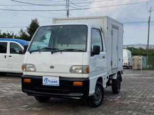 スバル サンバートラック ベースグレード デンソー製中温冷凍車 -5度確認済み 左側サイドドア付