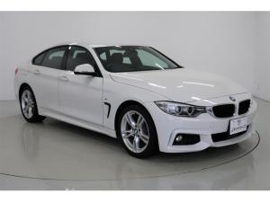 BMW 4シリーズ 420iグランクーペ Mスポーツ 純正HDDナビ カメラ