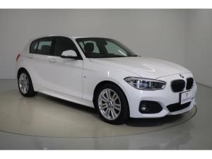 BMW 1シリーズ 118d Mスポーツ ACC付・衝突軽減ブレーキ・LEDヘッドライト・スマートキー・純正アルミホイール・純正HDDナビ バックカメラ DVD再生 Bluetooth ETC