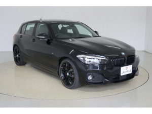 BMW 1シリーズ 118d Mスポーツ エディションシャドー ACC付・衝突軽減ブレーキ・LEDヘッドライト・前席パワーシート・前席シートヒーター・本革シート・スマートキー・純正アルミホイール・純正HDDナビ・バックカメラ・DVD再生・Bluetooth・ETC