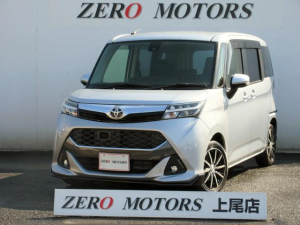 トヨタ タンク カスタムG-T ターボ LEDライト ナビ Bluetooth DVD再生 左右電動スライドドア スマートキー 保証付