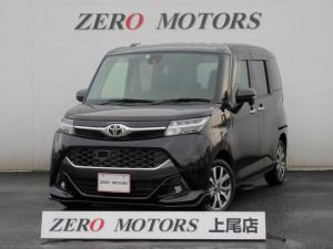 トヨタ タンク カスタムG-T ターボ ナビTV bluetooth対応 スマートキー LEDライト 左右電動スライドドア