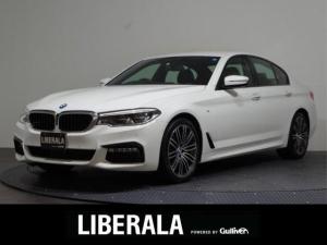 BMW 5シリーズ 530iMスポーツ/1オーナー/黒革/360°カメラ/禁煙車