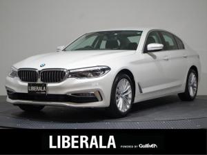 BMW 5シリーズ 523d ラグジュアリー ドライビングアシスト/ACC/HUD/純正ナビ&地デジ/360°/コンフォートアクセス/イージークローザー/革シート/パワーシート/シートヒーター/エアシート/パワートランク/ETC//禁煙車