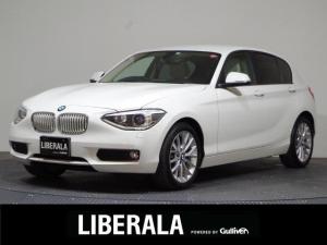 BMW 1シリーズ 116i ファッショニスタ 限定370台/ダコタ・レザー オイスターシート/ナビ/バックカメラ/ETC/リアソナー/シートヒーター/純正17inAW/純正HIDヘッドライト/アイドリングストップ/禁煙車