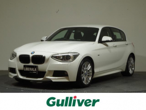 BMW 1シリーズ 116i Mスポーツ 純正ナビ/iDrive/キセノン/純正17インチAW/ETC/禁煙車/ステアリングリモコン/Bluetoothオーディオ/TEL/アイドリングストップ/リモコンキー