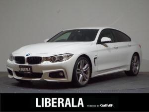 BMW 4シリーズ 420iグランクーペ Mスポーツ 後期モデル/ワンオーナー/インテリジェントセーフティ/ACC/BSM/純正HDDナビ/パーキングアシスト/ETC/HIDライト/フォグ/リアフォグ/パワーバックドア前席パワーシート