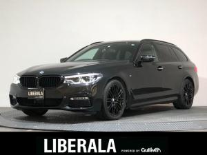 BMW 5シリーズ 530iツーリングエディションミションインポッシブル インテリジェントセーフティ/ACC/レーンアシスト/BSA/コンフォートアクセスアンビエントライト/harman/kardon/HDDナビ/サラウンドビュー/ETC/HUD/黒革/シートヒータ/LED