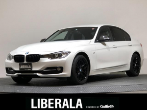 BMW 3シリーズ 320d スポーツ iDrive HDDナビ/バックカメラ/ミラー一体型ETC/スピードリミッター/HID/ヘッドライトウォッシャー/トランクスポイラー/カーボン調ミラーカバー/Mパフォーマンス18インチAW