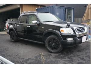 フォード エクスプローラースポーツトラック XLT ベッドエクステンダー マッドタイヤ ヒッチメンバー ナビ 地デジ Bluetooth付き