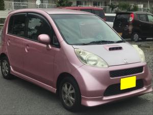 ホンダ ライフ Dターボ ピンク フラット ETC 室内美車