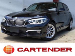 BMW 1シリーズ 118i スタイル HDDナビ リアカメラ コーナーセンサー ETC ドライブレコーダー 衝突軽減ブレーキ クルーズコントロール コンフォートアクセス  LEDヘッドライト 専用ツートンシート・インテリア 県外陸送半額!