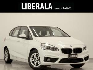 BMW 2シリーズ 218iアクティブツアラー プラスPKG 1オーナー インテリセーフ SOSコール 純正HDDナビ 純正16インチAW アームレスト LED Bluetooth リミットコントロール ステアリングスイッチ ミラー一体型ETC