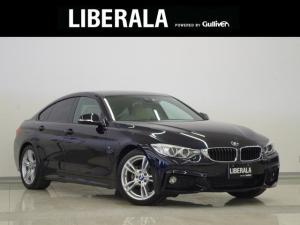 BMW 4シリーズ 420iグランクーペ Mスポーツ 1オーナー ベージュレザー インテリセーフ クルコン パワーバックドア LEDライト 純正18インチAW 純正HDDナビ Bカメラ 地デジTV パワーシート シートヒーター ETC ハンズフリーA