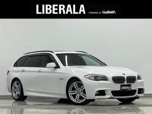 BMW 5シリーズ 523dブルーパフォーマンス ツーリングMスポーツP サンルーフ Pシート シートヒーター 黒革 純正HDDナビ DVD再生 フルセグTV Bカメラ コーナーセンサー ビルトインETC クルーズコントロール 純正19インチAW アイドリングストップ