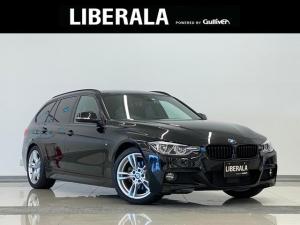 BMW 3シリーズ 320dツーリング Mスポーツ 1オーナー ACC Pシート Pバックドア LEDライト SOSコール フォグ フットトランクオープナー 純正18インチAW ブラックキドニーグリル アルカンターラコンビシート 前後ドラレコ