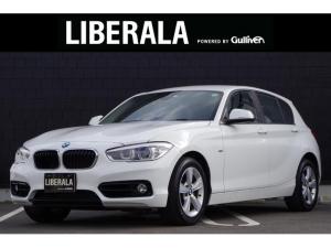 BMW 1シリーズ 118d スポーツ 1オーナー インテリジェントセーフティ 純正ナビ バックカメラ コンフォートアクセス クルーズコントロール LEDヘッドライト