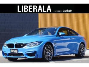 BMW M4 M4クーペ コンペティション アダプティブMサスペンション harman/kardon HUD カーボンルーフ 黒革シート  カーボンインテリアトリム 20インチ鍛造AW LEDヘッドライト 純正ナビ フルセグTV パワーシート