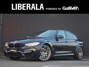 BMW M3 30ヤーレM3 国内30台限定 コンペティションパッケージ フルレザーメリノインテリア HUD インテリSFT 純正ナビ フルセグ クルーズコントロール  シートヒーター パワーシート ドライブレコーダー