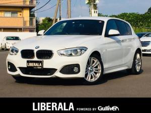 BMW 1シリーズ 118d Mスポーツ HDDナビ インティジェントセーフティ バックカメラ LEDヘッドライト コーナーセンサー ETC 禁煙車