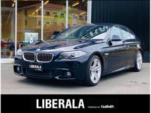 BMW 5シリーズ 528i Mスポーツ 黒革シート 純正HDDナビ フルセグ バックカメラ インテリジェントセーフティ アクティブクルーズコントロール レーンディパーチャーウォーニング 純正19インチアルミ シートヒーター ETC