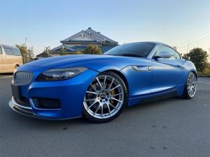 BMW Z4 sDrive35i Mスポーツパッケージ 3Dデザインマフラー 3Dデザインフロントリップ 3Dデザイン車高調 3Dデザインリアディフュージャー HDDナビ CD ローダウン HID 19インチBBS ※動画あり