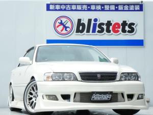 トヨタ チェイサー ツアラーV 純正5速MT/トラスト製タービン(TD05H-18G)/LSD/エキマニ/マフラー/レカロフルバケ/HKSダイレクトサクション/HKSブースト計/ブリッツブーストコントローラー/新品タイヤ