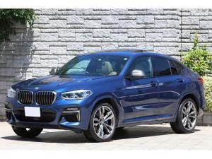 BMW X4 M40i ベージュレザー パノラマサンルーフ 純正21インチAW ヘッドアップディスプレイ iDrive7.0 ライブコックピット 2020年モデル 出力アップ388ps ワンオーナー