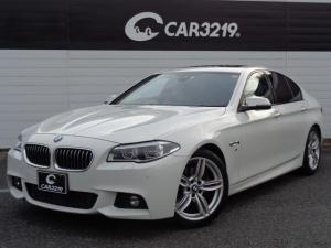 BMW 5シリーズ 528i Mスポーツ サンルーフ アダプティブクルーズ レーンキープ LEDヘッドライト ブラックレザー シートヒーター 純正ナビ 地デジ Bluetooth パワーシート バックカメラ パークセンサー ETC Mスポーツ
