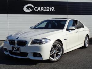 BMW 5シリーズ 523d Mスポーツ サンルーフ アダプティブクルーズ レーンキープ HIDヘッドライト ブラックレザー シートヒーター 純正ナビ 地デジ Bluetooth パワーシート バックカメラ パークセンサー ETC Mスポーツ