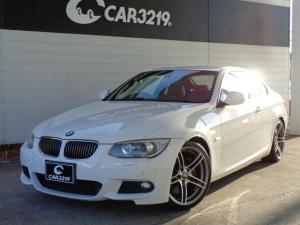 BMW 3シリーズ 335i Mスポーツパッケージ 赤レザー HIDライト HDDナビ ミュージックサーバー 地デジ ETC シートヒーター 19AW パークセンサー パドルシフト パワーシート