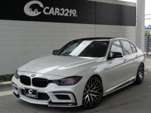 BMW 3シリーズ 320i エナジーエアロ 20インチAW マフラー ローダウン HDDナビ Bluetooth接続 ETC ドラレコ バックカメラ パワーシート ドライブセレクト ミュージックサーバー